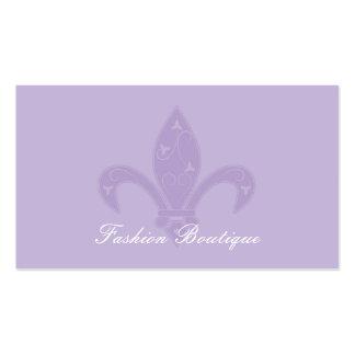 Lavendel-Lilien-Butike Visitenkarten