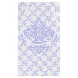 Lavendel-Lilien-Geschenk-Tasche Kleine Geschenktüte