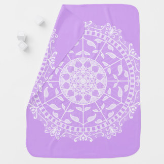 Lavendel-Mandala Puckdecke