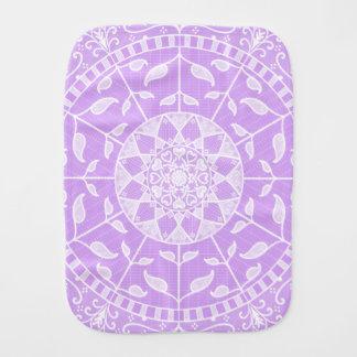 Lavendel-Mandala Spucktuch