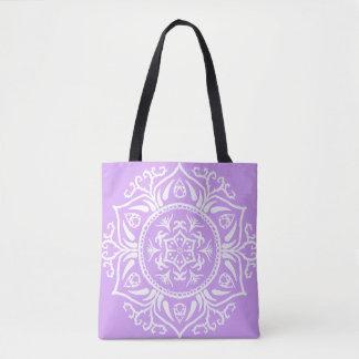 Lavendel-Mandala Tasche
