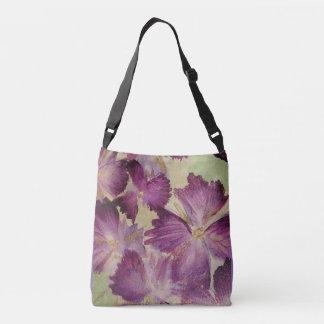Lavendel mit Blumen Tragetaschen Mit Langen Trägern