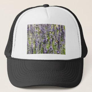 Lavendel mit Hummelbienen Truckerkappe