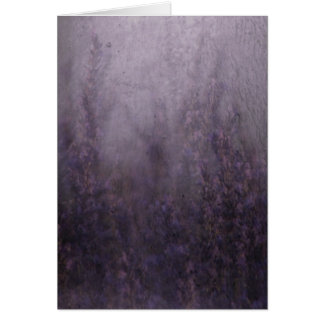 Lavendel-Nebel-Wandgemälde Karte