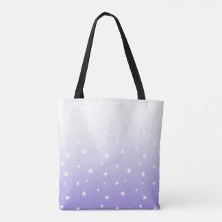 Lavendel Ombre hat Taschen-Tasche in der Tasche