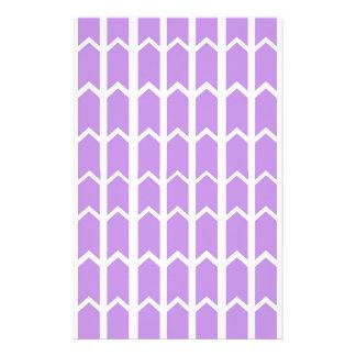 Lavendel-Platten-Zaun Briefpapier