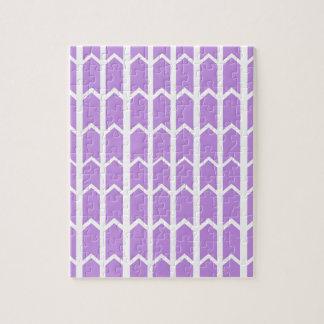 Lavendel-Platten-Zaun Puzzle