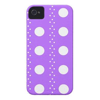 Lavendel-Punkt-Streifen iPhone 4 Case-Mate Hülle