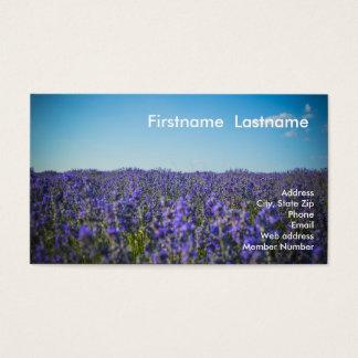 Lavendel-Reihe Visitenkarte