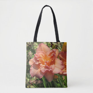 Lavendel-rosa doppelte Taglilien Tasche