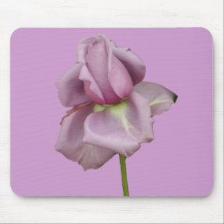 Lavendel-RosenMausunterlage Mousepad