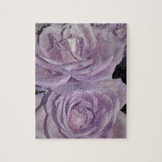 Lavendel-Rosensammlung Puzzle