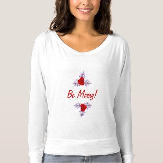Lavendel-Stechpalme verlässt den T - Shirt der