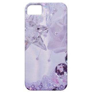 """""""Lavendel-Stern- und Kristall"""" Sammlung Etui Fürs iPhone 5"""