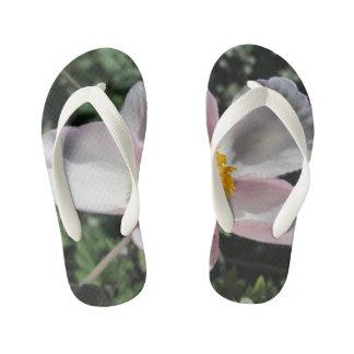 Lavendel-Strand-Pflaumen-Rosen-Blume Kinderbadesandalen