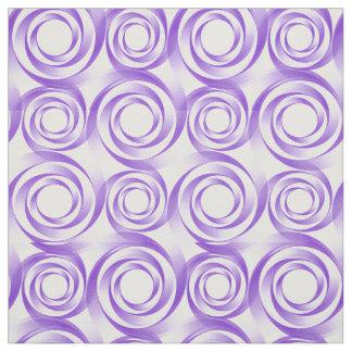 Lavendel-Strudel-Turbulenz-Gewebe Stoff