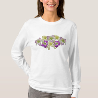 Lavendel-Taglilie-Collage T T-Shirt