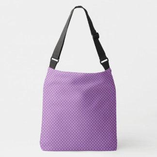 Lavendel-Tupfen Tragetaschen Mit Langen Trägern