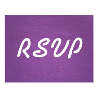 Lavendel UAWG Karte Postkarte
