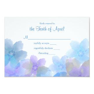Lavendel und blaues Hochzeit UAWG 8,9 X 12,7 Cm Einladungskarte