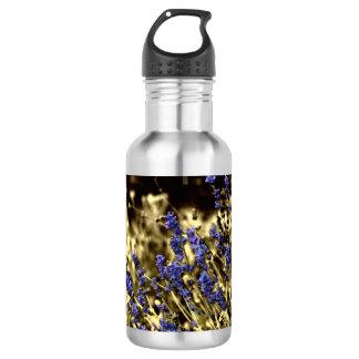 Lavendel und Gelb Edelstahlflasche