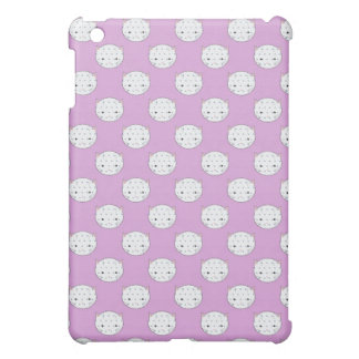 Lavendel und weiße iPad mini hülle