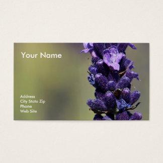 Lavendel Visitenkarte