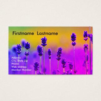 Lavendel-Visitenkarte Visitenkarte