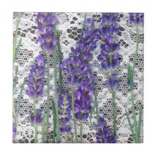 Lavendelhintergrund Keramikfliese
