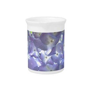 LavendelHydrangeas Getränke Pitcher