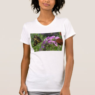 LavendelPhlox mit Frack T-Shirt