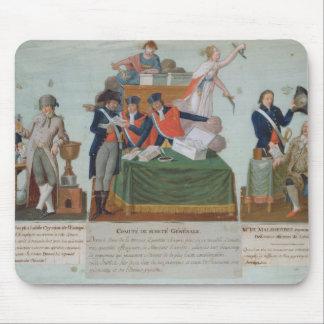 Lavoisier, Comite de Surete Generale Mauspads