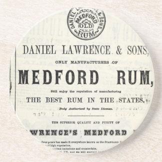 Lawerences Medford Rum Untersetzer