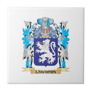 Lawhorn Coat of Arms - Family Crest Tiles