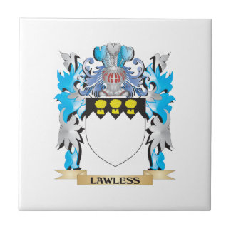 Lawless Coat of Arms - Family Crest Ceramic Tile