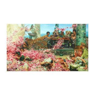 Lawrence Alma-Tadema die Rosen von Heliogabalus Leinwanddruck