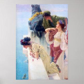 Lawrence Alma Tadema ein Coign des günstigen Poster