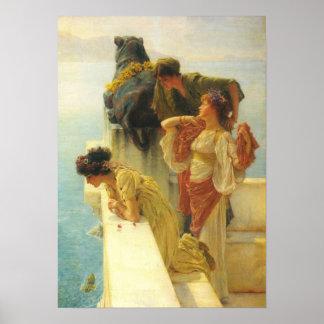 Lawrence Alma-Tadema - guter Standpunkt Poster