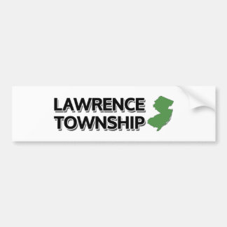 Lawrence-Gemeinde, New-Jersey Autoaufkleber