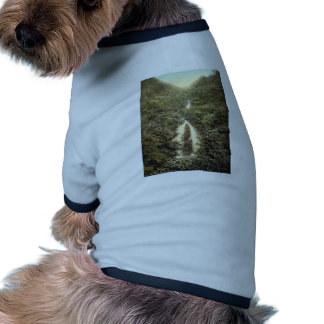 Laxey, Doon Schlucht-Wasserfall, Isle of Man, Engl Hunde T Shirts