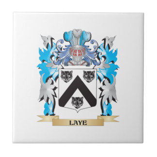 Laye Coat of Arms - Family Crest Ceramic Tiles
