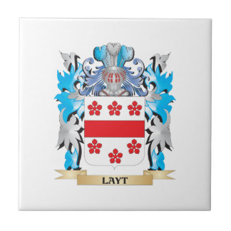 Layt Coat of Arms - Family Crest Ceramic Tiles