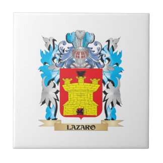 Lazaro Coat of Arms - Family Crest Tile