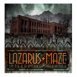 Lazarus-Labyrinth-Gebäude Photo Figuren
