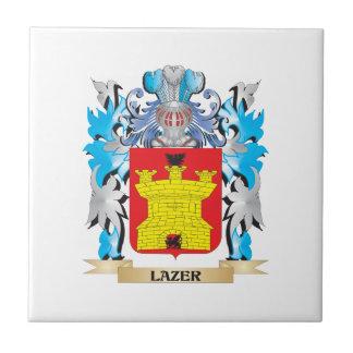 Lazer Coat of Arms - Family Crest Tiles