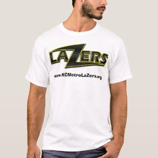 LaZer Logo-weißer Hintergrund, T-Shirt