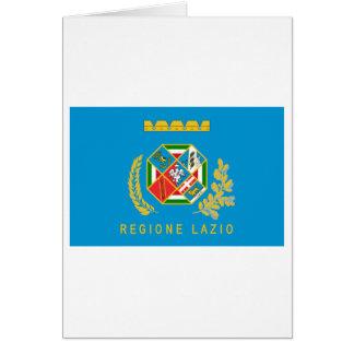 Lazio-Flagge Karte