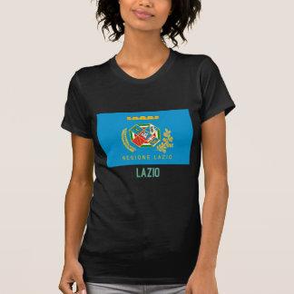 Lazio-Flagge mit Namen T-Shirt