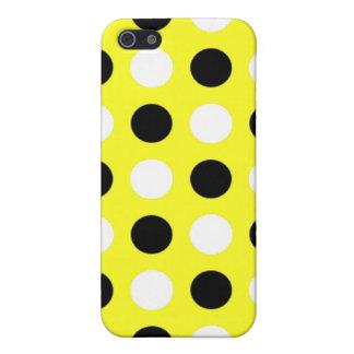 Lazor Zitronen-Tupfen iPhone 5 Cover