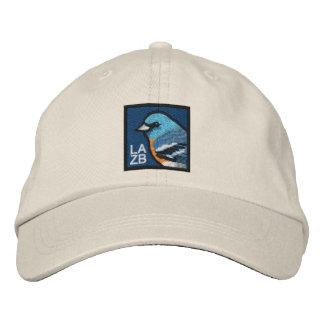 Lazuli-Flagge (nicht-beunruhigt) Besticktes Cap